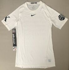 Nike EYBL 10th Anniversary Compression Shirt 908083-100 Men's Size XL Basketball