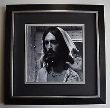 Robert Powell SIGNED Framed LARGE Square Photo Autograph display Jesus TV & COA