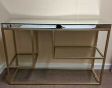 Hudson Living Pippard Console Table - Champagne *Damaged