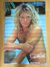 """1983 David Lee Roth of Van Halen 23"""" X 36"""" Poster"""
