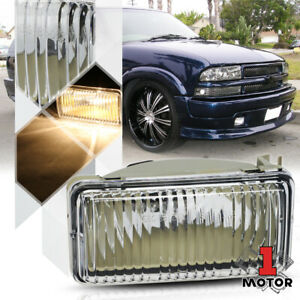 RH OE Style Replacement Fog Light Front Bumper Lamp for 98-05 Chevy S10/Blazer