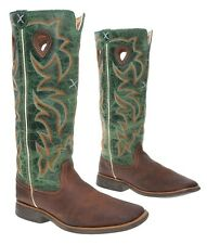 TWISTED X Cowboy Boots 5 M Mens Youth Tall BUCKAROO Leather Western Roper Boots