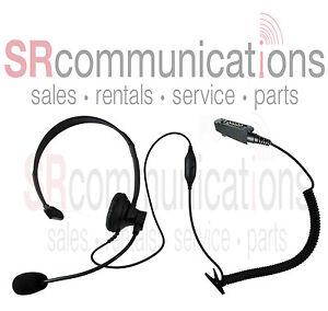 Single ear VOX headset Icom F3161T F4161S F50 F60V F80 F70 F3161DT F4161DT F4061