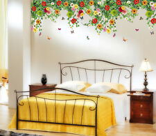 6900046 | Wall Stickers Hanging Realistic Daisy Flowers Falling From Ceiling