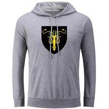 House Greyjoy Banner Print Hoodies Unisex Sweatshirt Pullover Hooded Tops Hoody