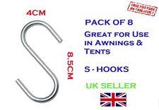 Metal S Hooks (pack of 8)