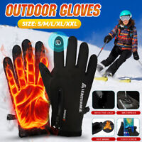 Gloves Men Women Insulated Thermal Lined Outdoor Ski Water Resistant Winter Work
