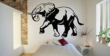 Wall Room Decor Art Vinyl Sticker Mural Decal Elephant Africa Animal Tusk FI762