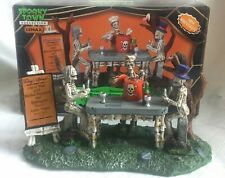Lemax Spooky Town Bone Appetit! # 93714 2009 Halloween Village Table Accent