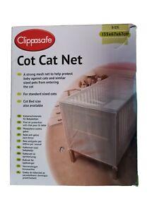 Clippasafe Cot Cat Net Brand size 135x67x67cm NEW FREE POSTAGE