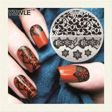 Nail Art Stamping Plates 30 Designs Stencils Templates Stamp Tool Beauty DIY