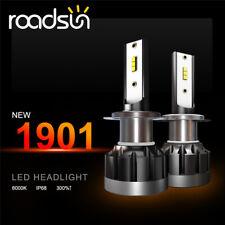 2X H7 200W Car CREE CSP LED Headlight Kit Canbus Error Free Lamp 550000LM 6000K
