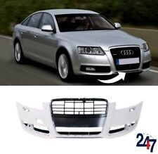 NEW AUDI A6 C6 FL 2008 - 2011 FRONT BUMPER WITH HEADLIGHT WASHER HOLES
