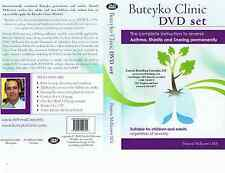 Close Your Mouth Buteyko Breathing Self Help DVD kit
