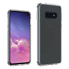 Samsung Galaxy S10e Hybrid Case Clear Shockproof TPU Acrylic Protective Cover