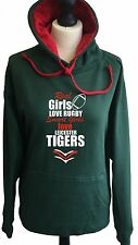 Leicester Tigers Rugby Hoodie Real girls love rugby