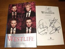 Westlife Hand Signed Our Story By All 4 Members..Amazing signature ..Look Rare