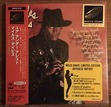 Miles Davis - You're Under Arrest Master Sound CD, Japan Import, SRCS 9137