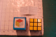 Vintage  wonderful puzzler cube in box and instructions, tape on box