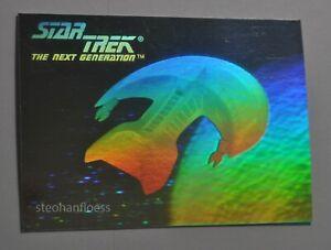 1992 Impel Star Star Trek TNG Hologram 04H Ferengi Starship Ferengi Marauder