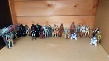 STAR WARS FIGURE LOT FROM ALL DIFFERENT YEARS