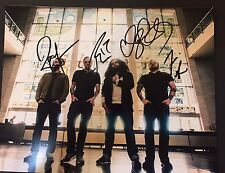 COHEED AND CAMBRIA  Complete Band Signed 11x14 Photo 4+ Claudio Sanchez