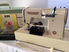 Elna Plana Automatic Sewing Machine 20 Discs/ Accessories; Type722010 Supermatic