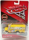 Disney Pixar Cars 3 Deluxe Miss Fritter School Bus 2016 Mattel No. DXV93 NRFP