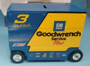 Action Dale Earnhardt #3 Gm Goodwrench Service + Wrangler Jeans 1999 Pit Wagon