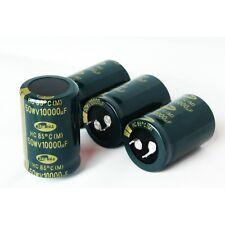 N.2 Condensatore Elettrolitico 50V 10000 uF Amplificatori Hifi Alimentatori