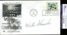 Willie Shoemaker Jsa Authenticated Autograph 1966 Fdc Signed