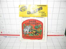 Vintage Mint in Pack 1969 THE DARK CONTINENT BUSCH GARDENS TAMPA FL PATCH NOS #2