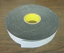 "NEW 3M 4726 Vinyl Closed Cell Foam Tape, 2"" x 3'. (Made in the USA)"