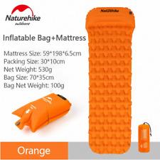 Naturehike NH가벼운 에어 매트/ 1인용(베개 포함)-Orange(Mattress+Inflatable Bag) / 야외용 탠트 매트/