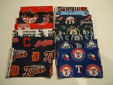 Major League Baseball MLB American League Teams  1/4 Yard  9 inches x 58 inches