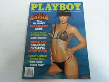 PLAYBOY AUGUST 1999 NELL MCANDREW REBECCA SCOTT SHANNON ELIZABETH (555)