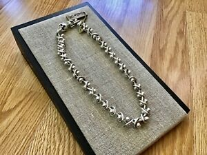 """NWT Uno de 50 Silver-plated Interwoven Necklace """"Avalanche"""" 17"""""""