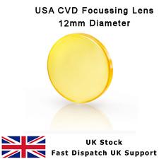 "ZnSe FOCUS LENS 12mm DIA FL 38.1 mm 1.5"" K40 USA CVD MENISCUS CO2 LASER CUTTER"
