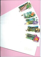 AUSTRALIA 1998 Set of 5 PSE's Unused  - State BOTANIC GARDENS - Mint
