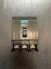 SIEMENS 15 AMP CIRCUIT BREAKER 480Y/277 VAC 3 POLE BOLT-IN BQD315