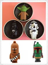 USB Flash Drive Star Wars Chewbacca Bounty Hunter USB Cute Giftbox memory stick