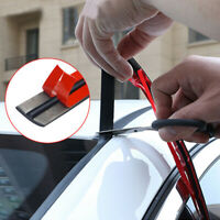 Car Windshield Weather Seal Rubber Trim Molding Cover 6.5FT For Car Accessories