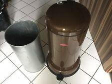 Wesco Baseboy 20 Mülleimer | Retro Optik | 20 Liter | Braun