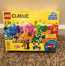 LEGO Classic Basic and Gears Set~BNIB~ 244 Pieces~Ages 5-99
