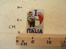 STICKER,DECAL I LOVE ITALIA MUSIC GITAAR