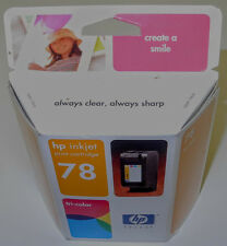 New Box HP inkjet #78 Genuine Tri-Color Ink Cartridge Expired  Product :c6578d