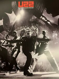 U2 2 A 22 TRACK LIVE COLLECTION FROM U2360 2 X CD WITH 20 PAGE FULL COLOUR BOOK