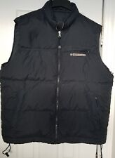 Men's Ambercrombie &  black Vest, Size Large