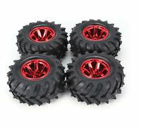 1/10 Rc Truck Wheels & Tires for Traxxas Rustler Stampede Grave Digger Bigfoot