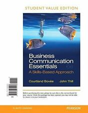 Business Communication Essentials, Student Value Edition (6th Edition), Thill, J